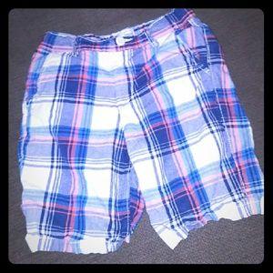Childrens place plaid shorts size 8